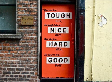 Maser - tough to be a nice guy